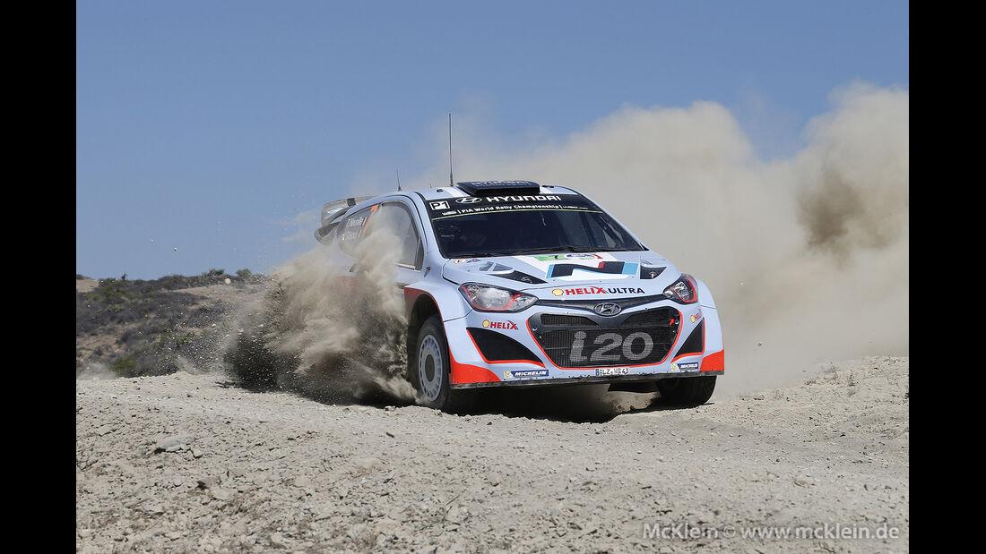Rallye Mexiko 2014, WRC, Thierry Neuville, 03/2014