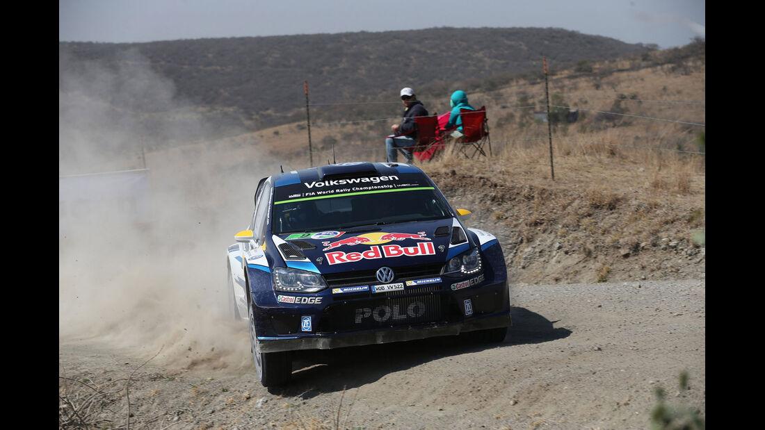 Rallye Mexiko 2015 - Andreas Mikkelsen - VW