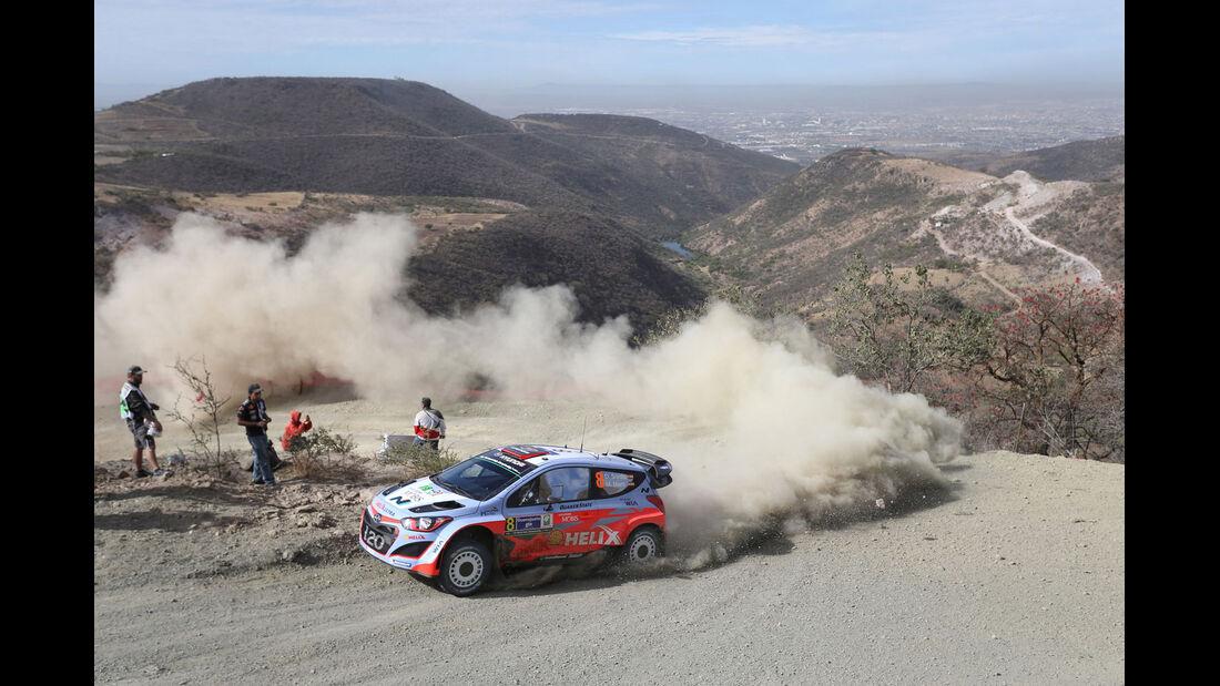 Rallye Mexiko 2015 - Dani Sordo - Hyundai