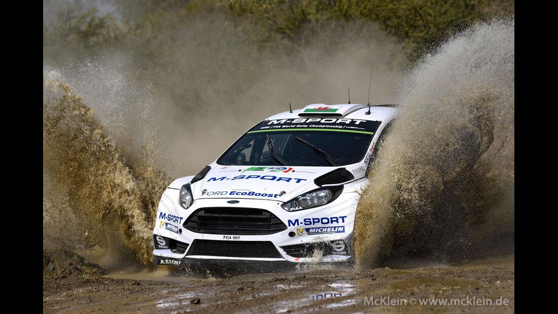 Rallye Mexiko 2015 - Elfyn Evans - Ford