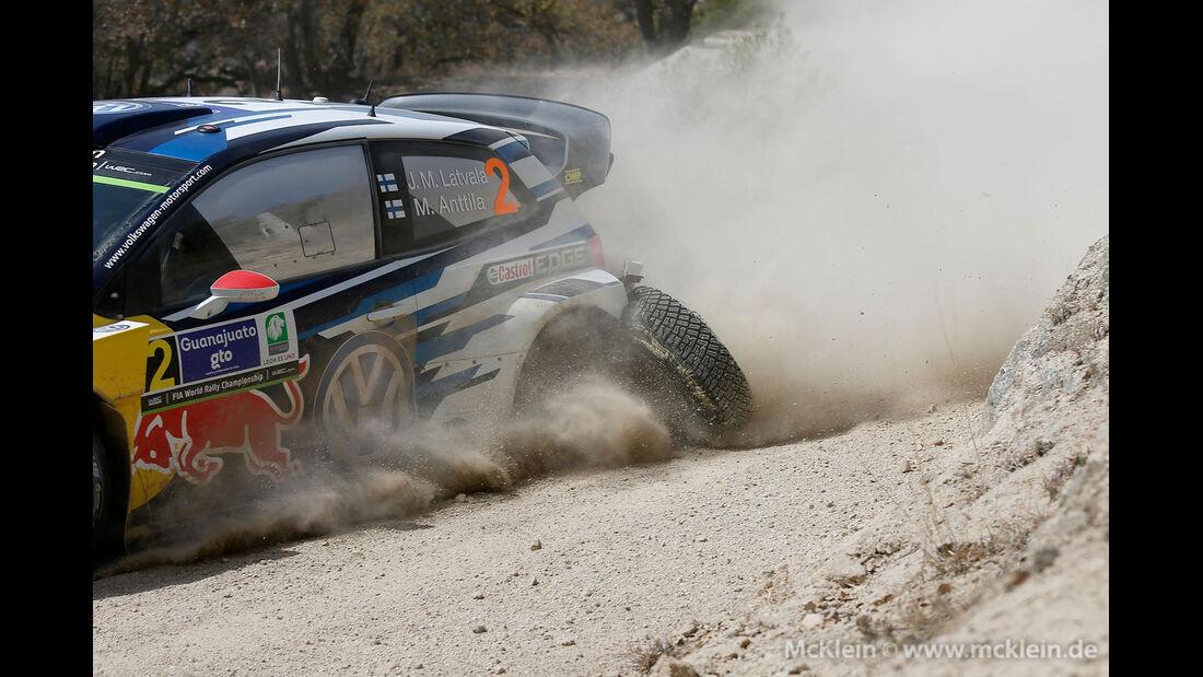 Rallye Mexiko 2015 - Hari-Matti Latvala - VW
