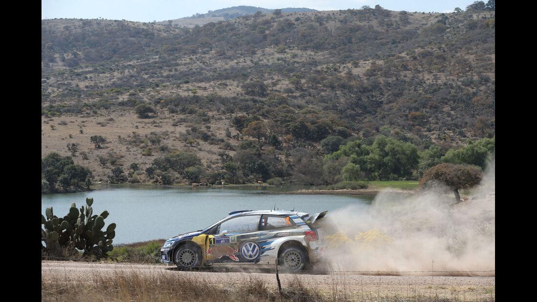 Rallye Mexiko 2015 - Sebastien Ogier - VW