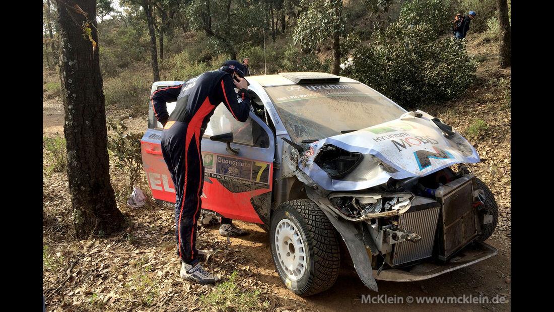 Rallye Mexiko 2015 - Thierry Neuville - Hyundai