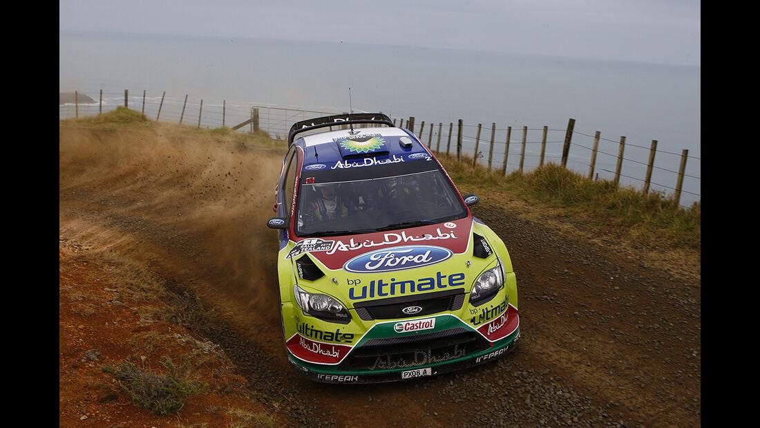 Rallye Neuseeland 2010, WRC, Ford Focus WRC
