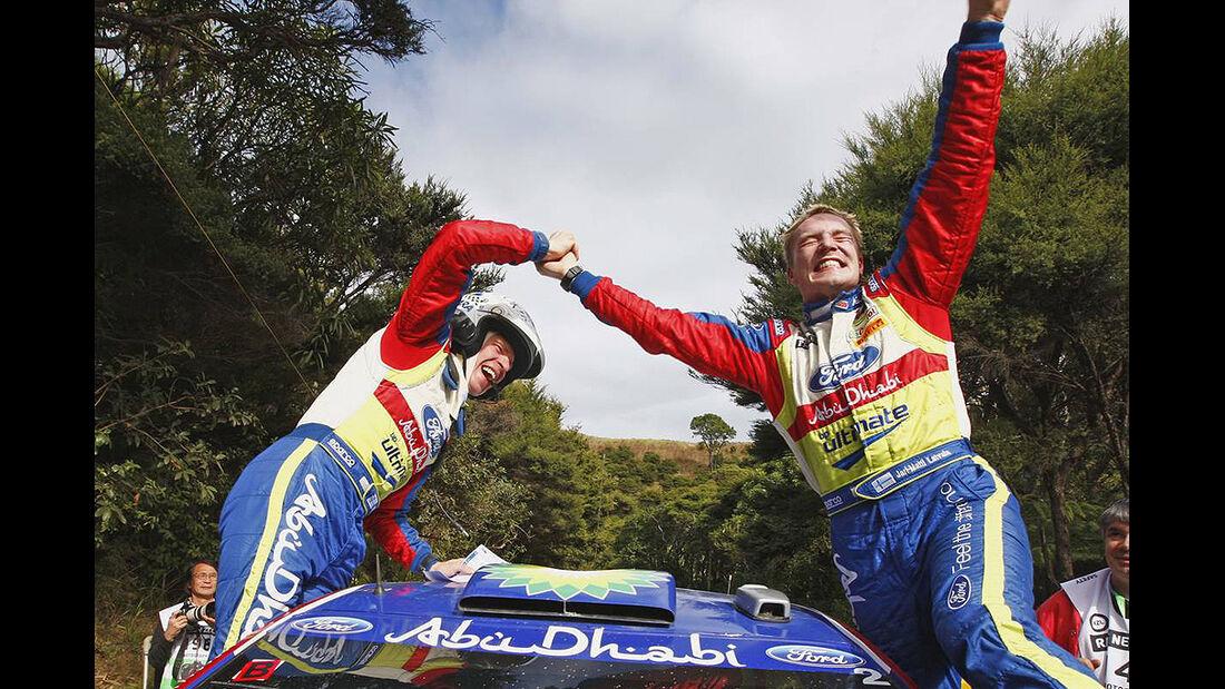 Rallye Neuseeland 2010, WRC, Latvala, Ford Focus WRC, Sieger