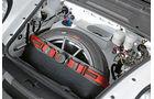 Rallye-Porsche 911 GT3, Ersatzrad