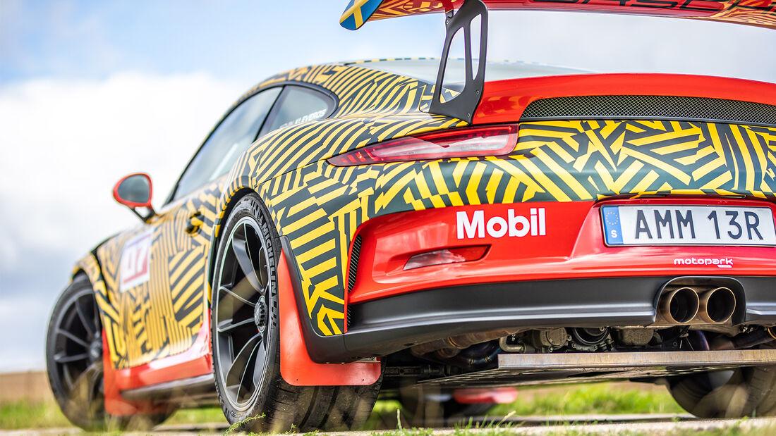 Rallye Porsche 911 GT3 Motopark Tuning Umbau