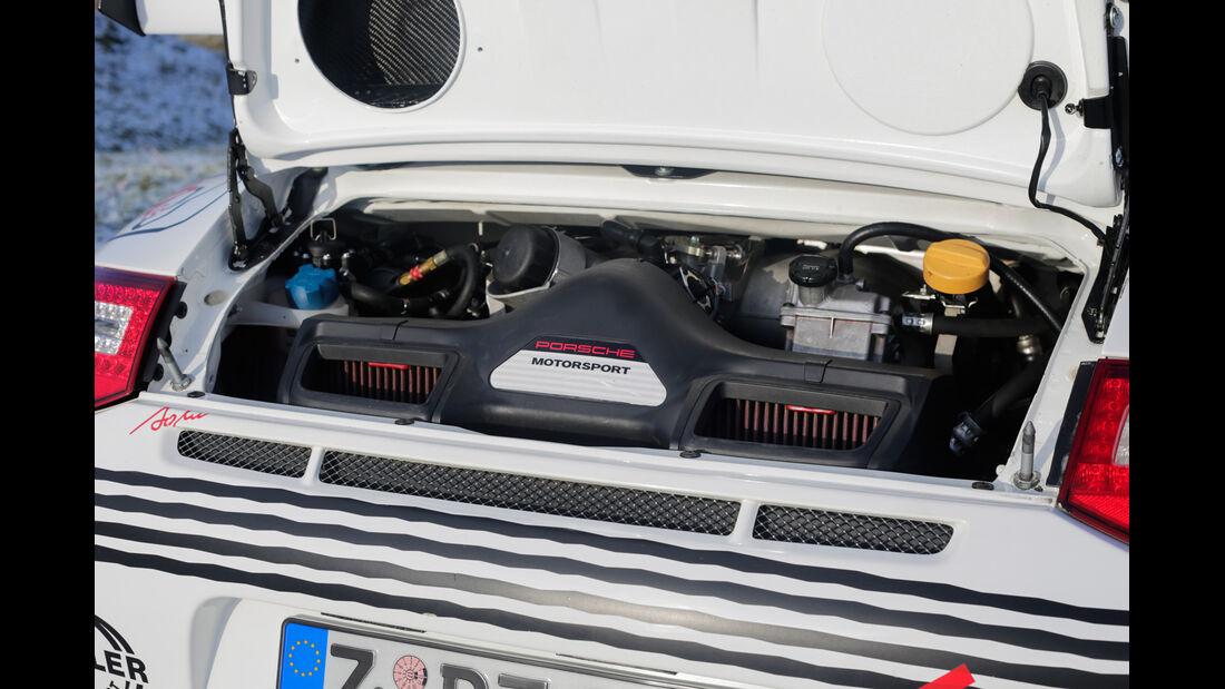 Rallye-Porsche 911 GT3, Motor