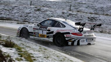 Rallye-Porsche 911 GT3, Seitenansicht