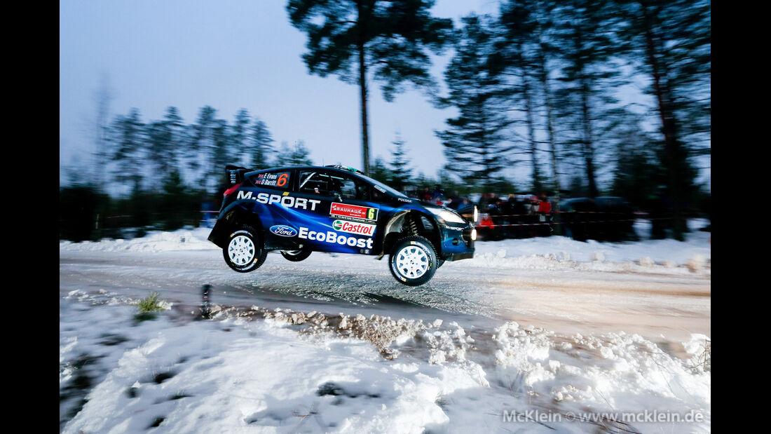 Rallye Schweden 2014 - Elfyn Evans