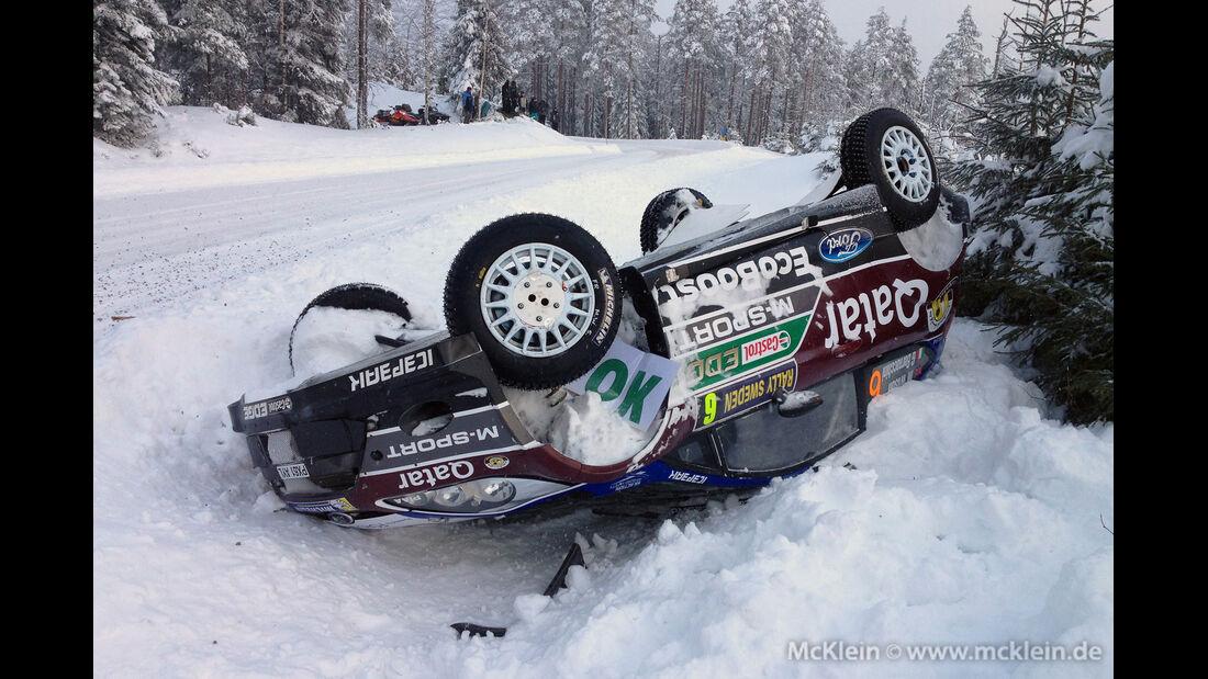 Rallye Schweden - Crash - 2013