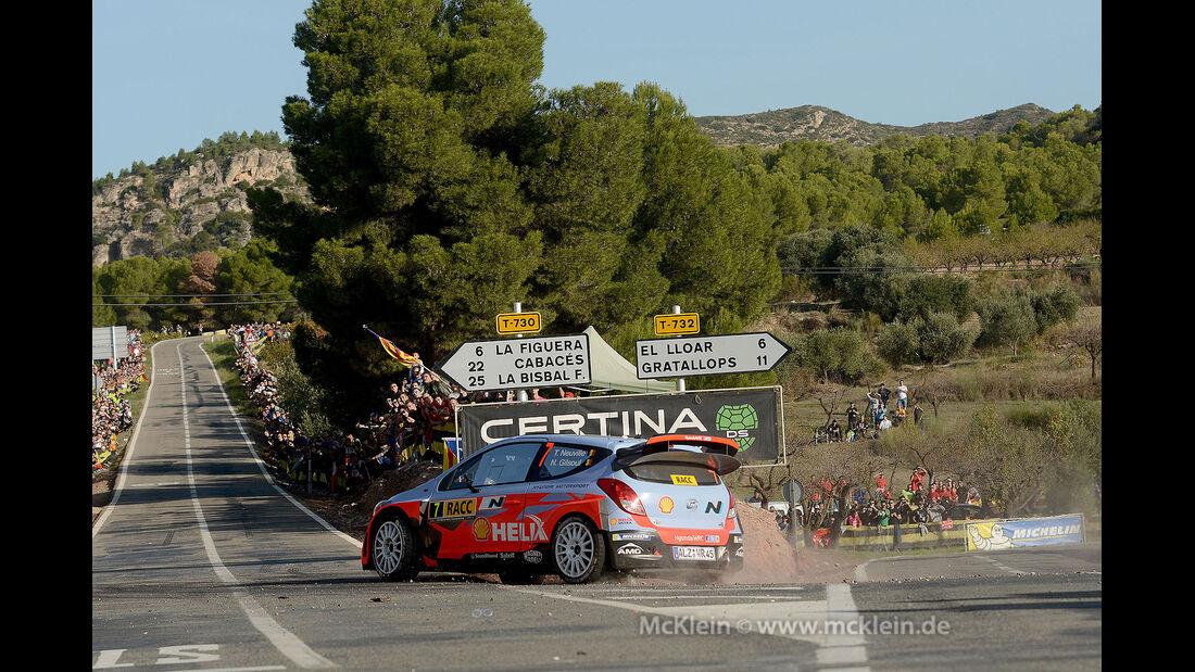 Rallye Spanien 2014