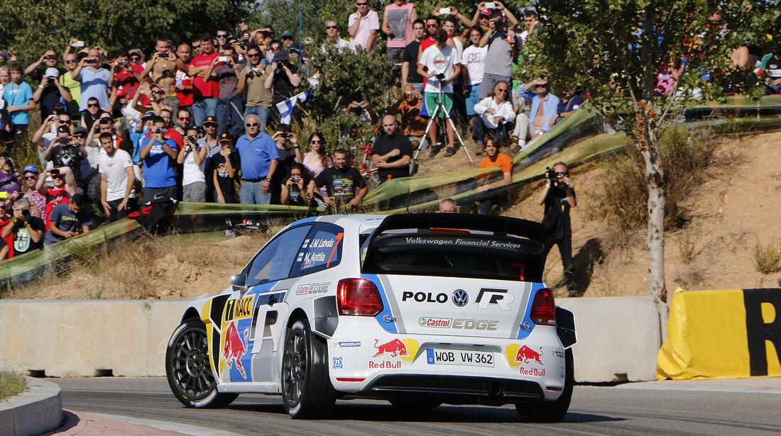 Rallye Spanien, Latvala, VW