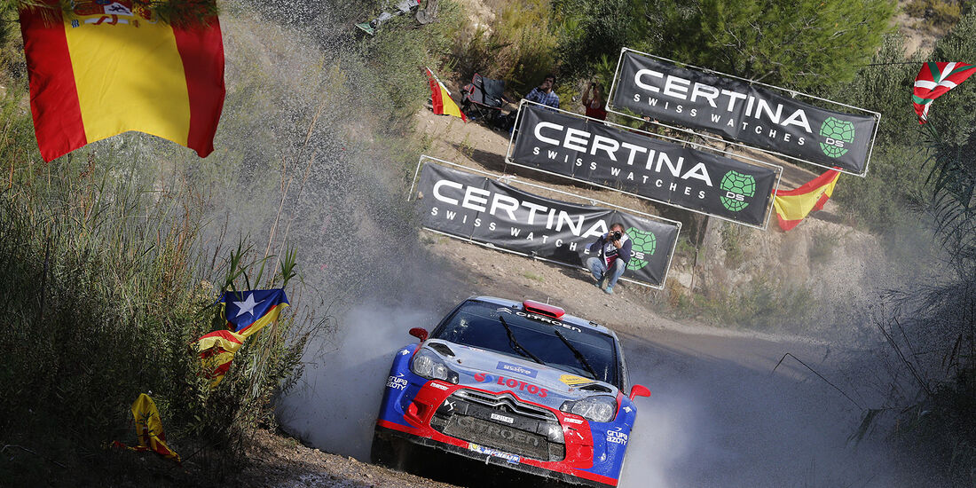 Rallye Spanien, Tag 3, Kubica