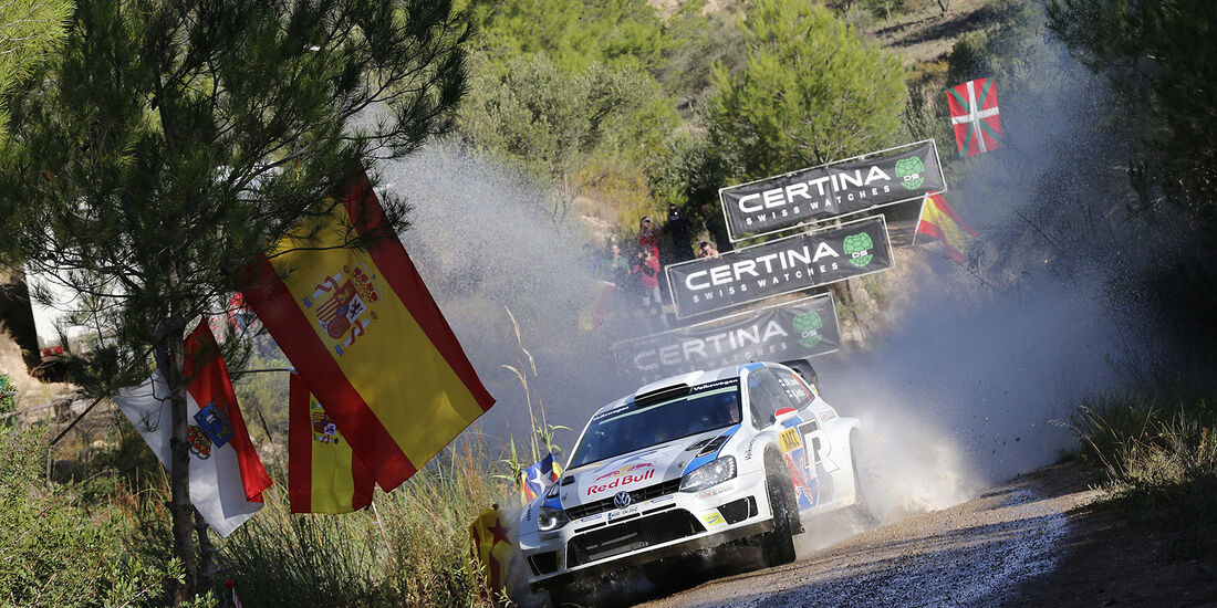 Rallye Spanien, Tag 3, Latvala, VW