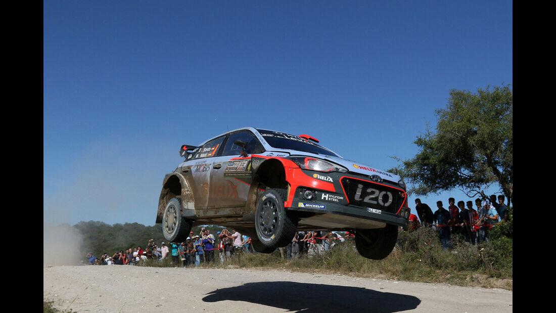 Rallye-WM - WRC - Argentinien 2016 - Dani Sordo - Hyundai