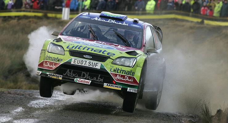Rallye WRC GB 2008 Latvala Ford