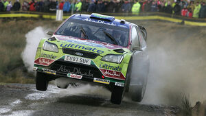 Rallye WRC GB 2008 Latvala Ford