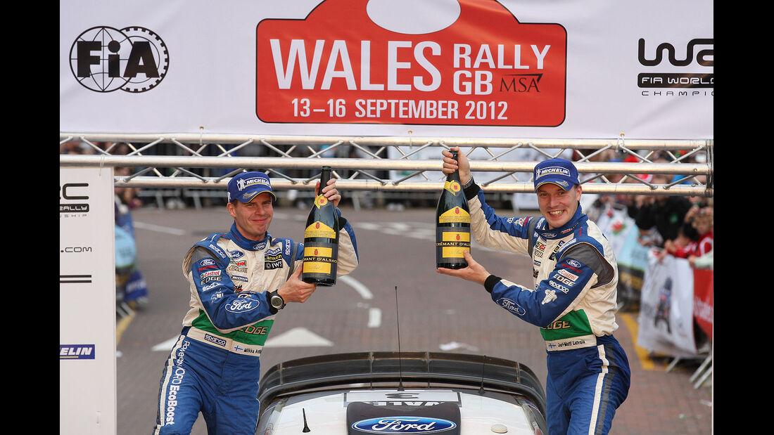Rallye Wales GB 2012 Jari-Matti Latvala (FIN) Miikka Anttila (FIN), Ford Fiesta RS WRC, Ford World Rally Team