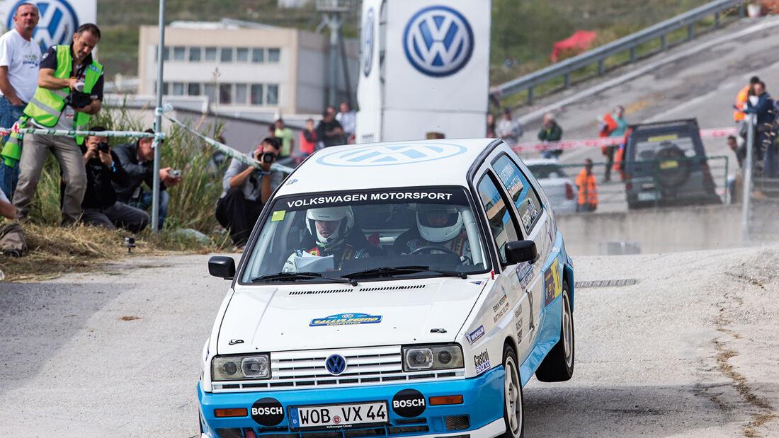 Rallyelegend San Marino, Golf G60, Bernd Ostmann, Frank Christian