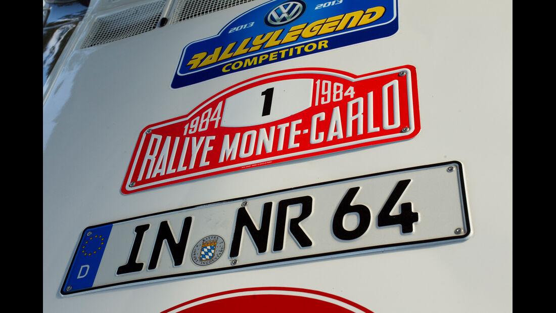 Rallyelegend San Marino, Schilder
