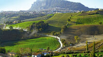 Rallylegend San Marino, Landschaft