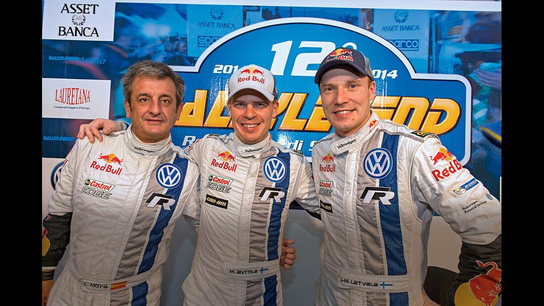 Rallylegend San Marino, Luis Moya, Miikka Anttila, Jari-Matti Latvala