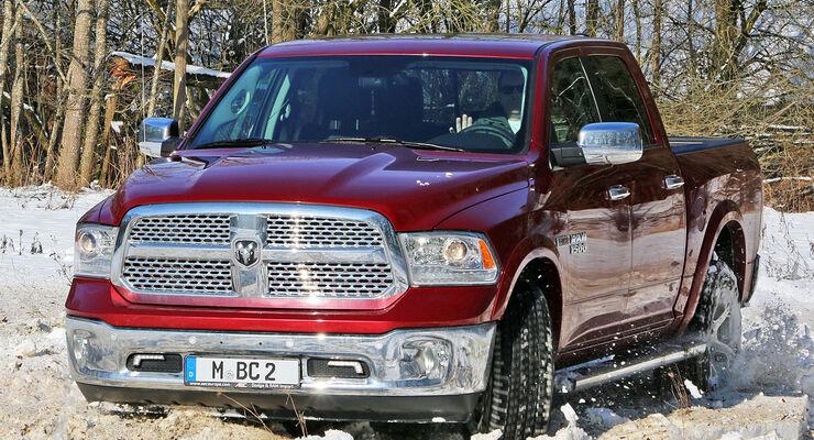 Ram 1500 Laramie 30 Ecodiesel Im Test Auto Motor Und Sport