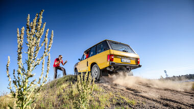Range Rover (1975), Exterieur