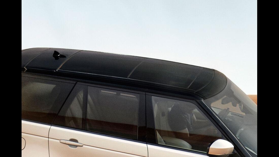 Range Rover 2012, Glasdach