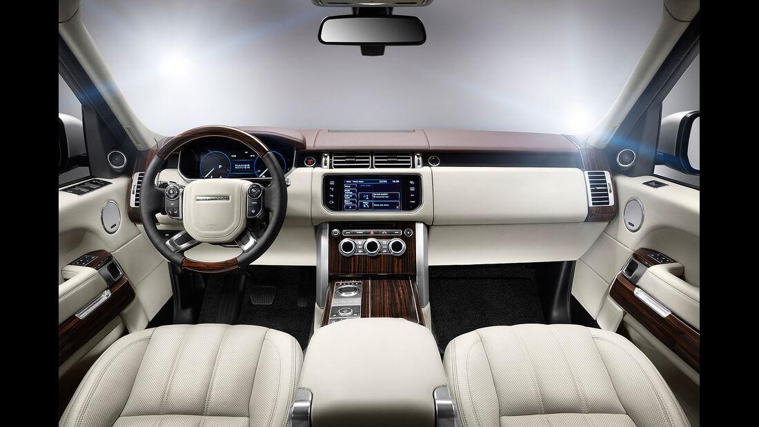 Range Rover 2012, Innenraum