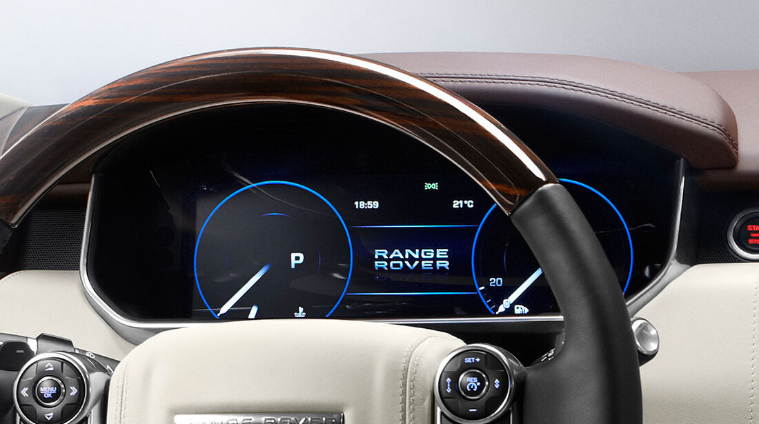 Range Rover 2012, Innenraum, Instrumente
