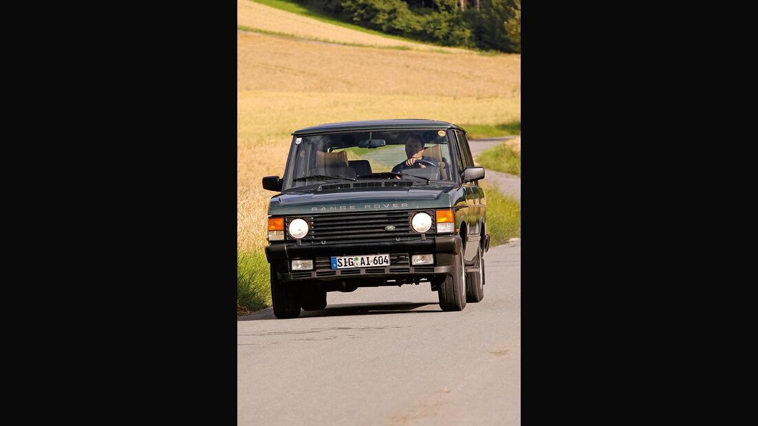 Range Rover 3.9 Vogue SE, Frontansicht