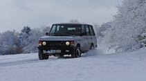 Range Rover 4.2, Front, Schnee
