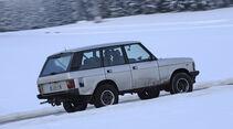 Range Rover 4.2, Seitenansicht, Schnee