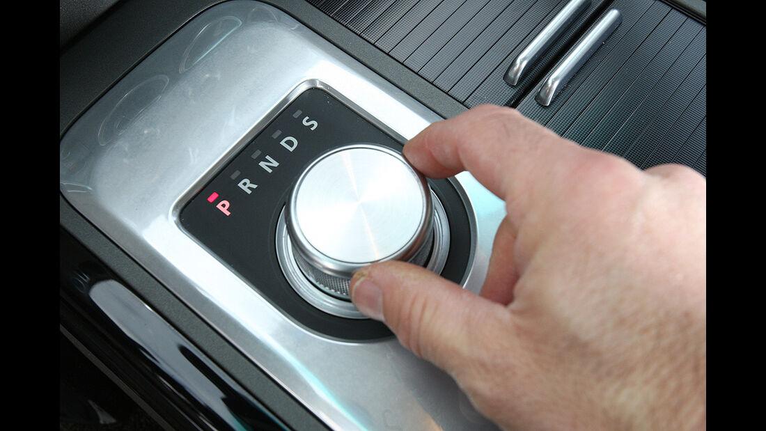 Range Rover 4.4 TDV8 Vogue, Automatik-Wählhebel