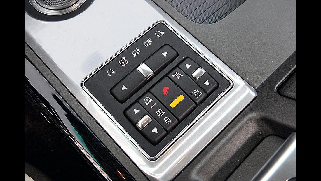 Range Rover 4.4 TDV8 Vogue, Geländefahrprogramm, Schalter