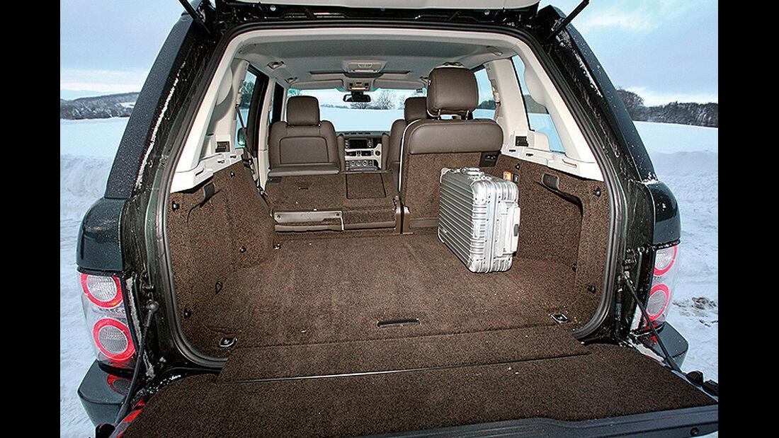 Range Rover 4.4 TDV8 Vogue, Kofferraum