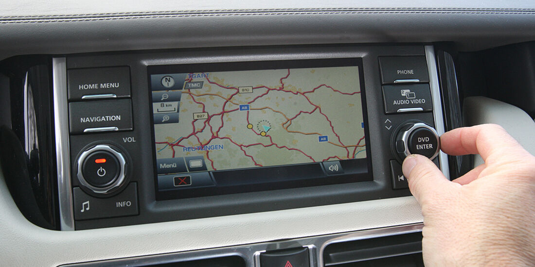 Range Rover 4.4 TDV8 Vogue, Navigationssystem