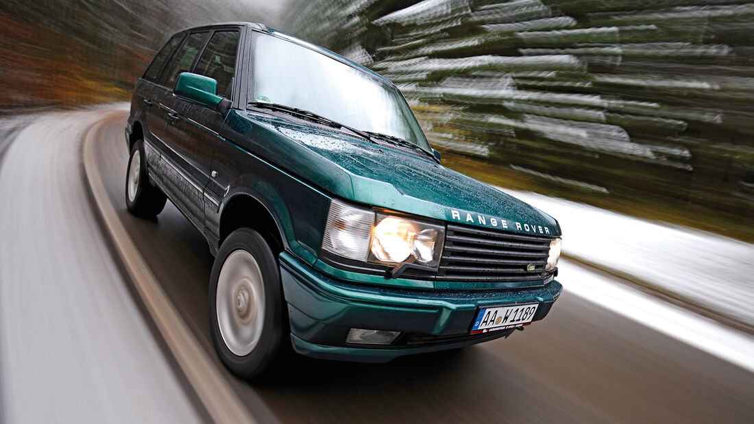 Range Rover 4.6 HSE, Frontansicht