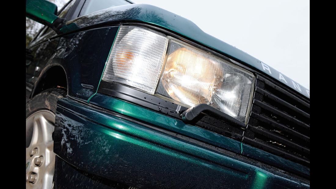 Range Rover 4.6 HSE, Frontscheinwerfer