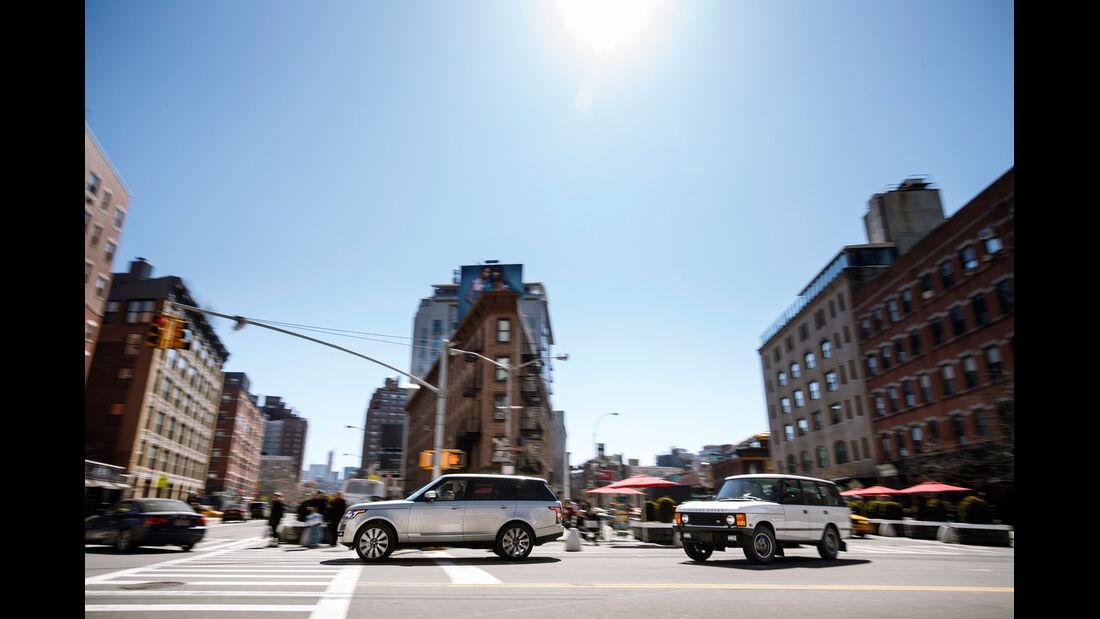 Range Rover 5.0 V8 SC, Range Rover Classic Vogue, New York, Impression