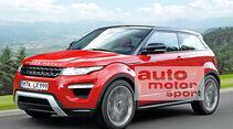 Range Rover Babyevoque, Seitenansicht