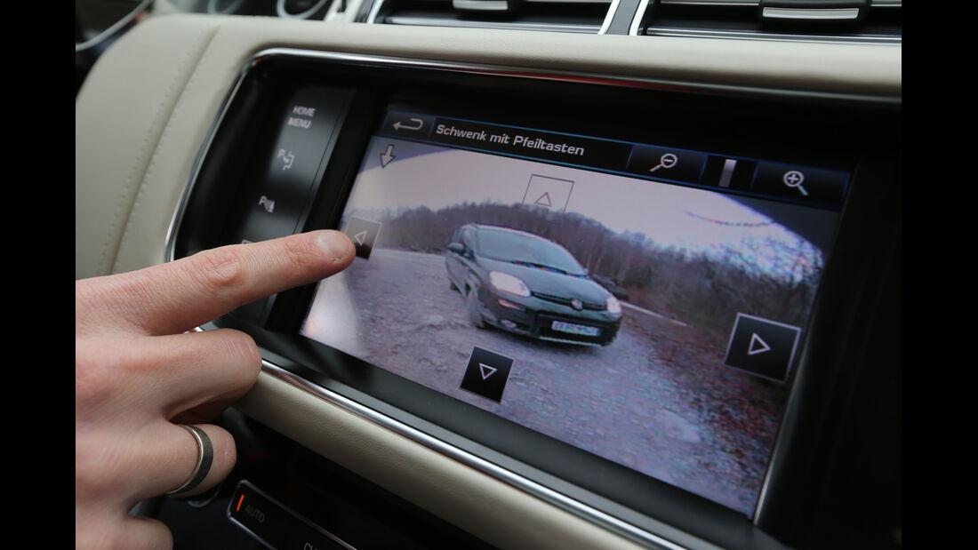 Range Rover, Bildschirm, Rückfahrkamera