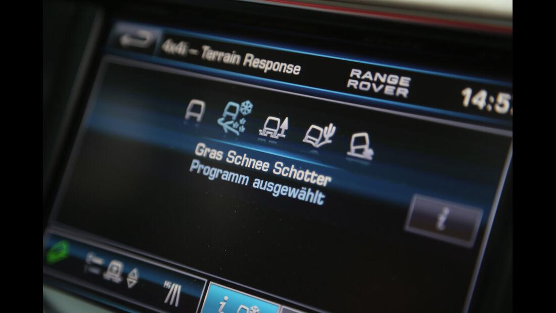 Range Rover, Bordcomputer