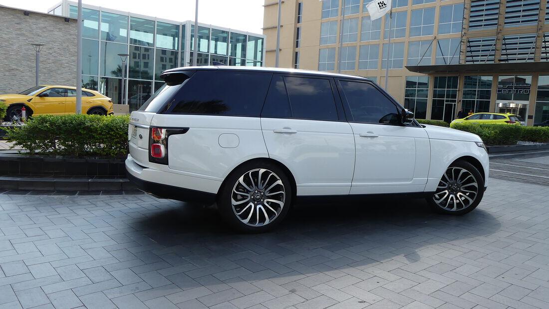 Range Rover - Carspotting - GP Abu Dhabi 2019