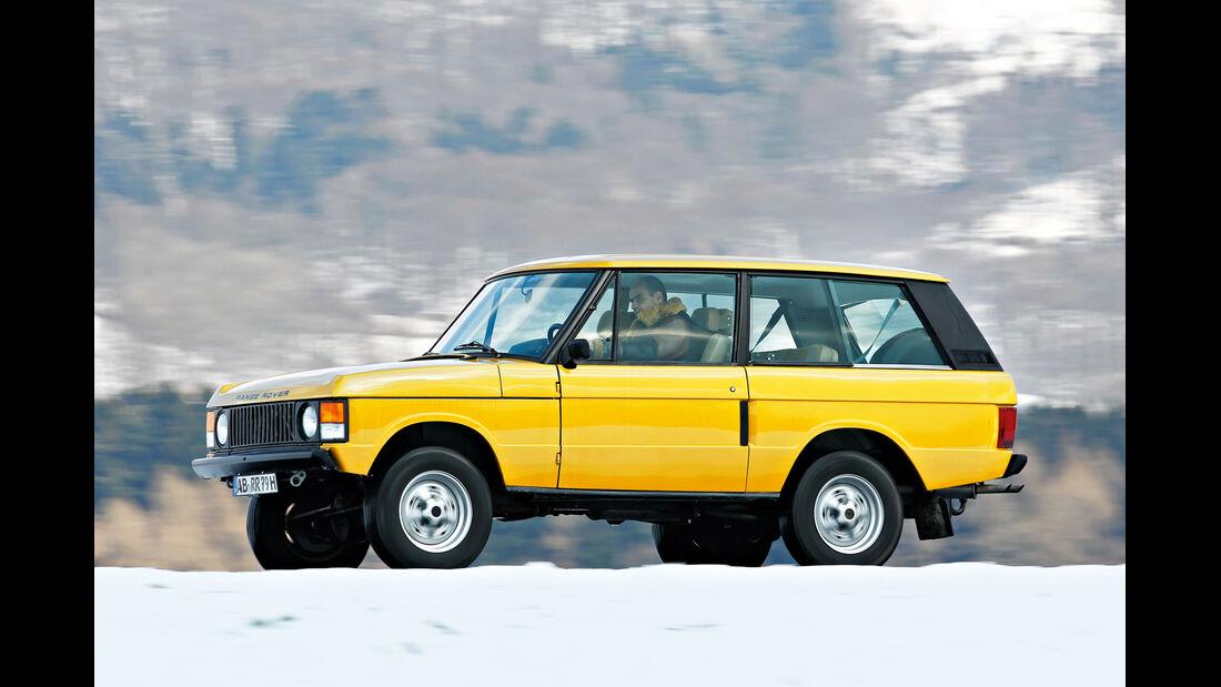 Range Rover Classic, Seitenansicht