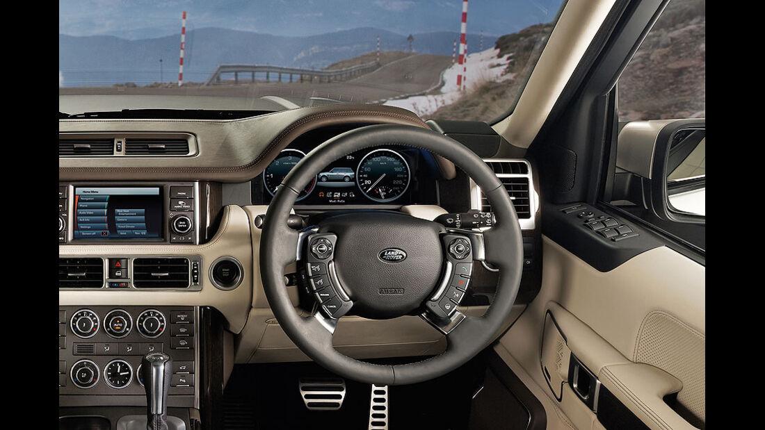 Range Rover Cockpit