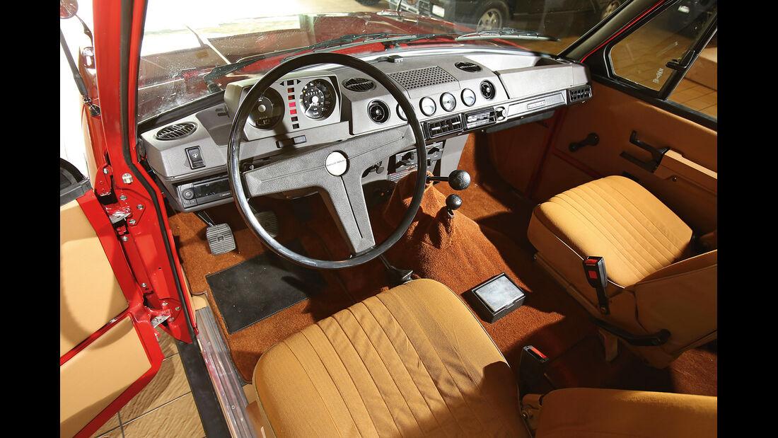 Range Rover, Cockpit