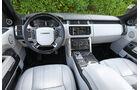 Range Rover, Cockpit, Lenkrad